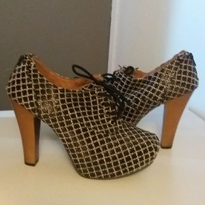Shoes - Qupid loafer style heels
